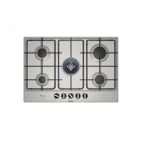 BOSCH - Piano Cottura PCQ7A5B80 Serie 6 a Gas 5 Fuochi Gas Colore ...