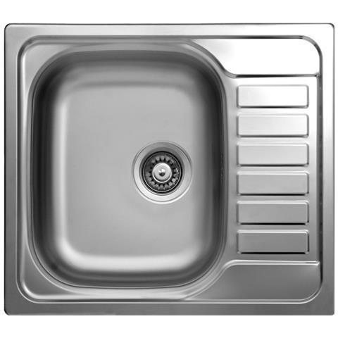 ARGONAUTA - Lavello Cucina Vasca Da Incasso Acciaio Gocciolatoio ...