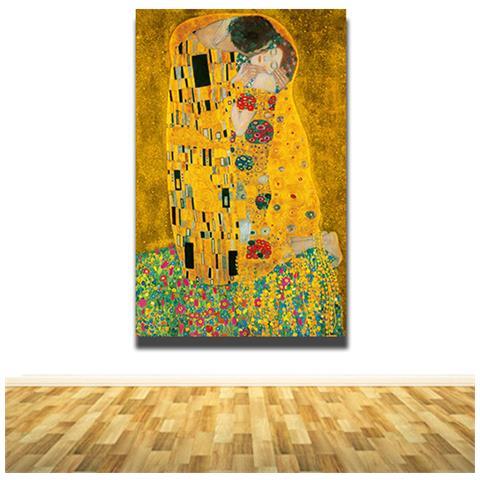 stampepersonalizzate.com - Quadri Famosi - Moderni Bacio Klimt ...