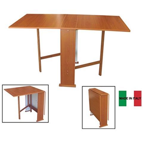 Tavoli Allungabili E Richiudibili.Liberoshopping Tavolo Consolle Richiudibile Pieghevole In Legno