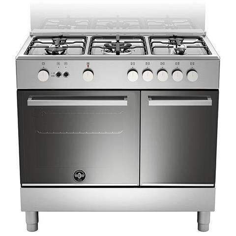 La Germania Cucina A Gas Ftr9p5gxv 5 Fuochi A Gas Forno Gas Ventilato Classe A Dimensioni 90 X 60 Cm Colore Inox Serie Futura Eprice