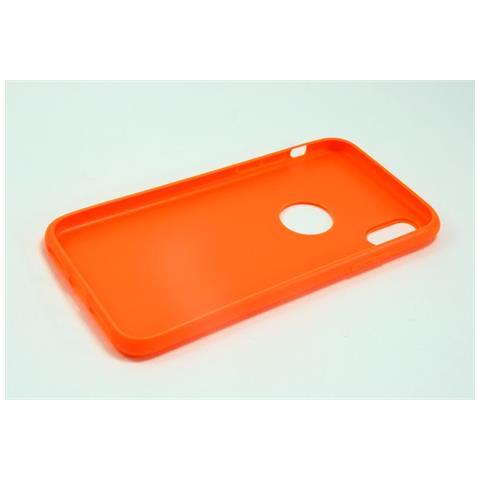 custodia iphone x arancione
