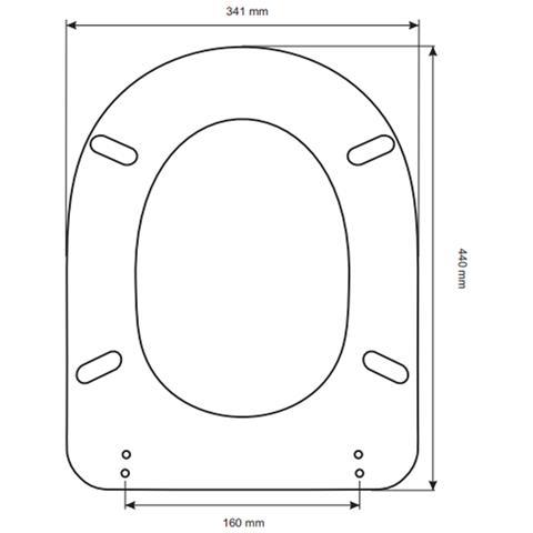 Sedile Ideal Standard Fiorile.Acb Colbam Copriwater Ideal Standard Fiorile Bianco Euro Sedile