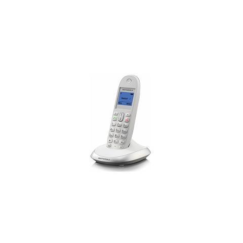C2001W Telefono Cordless Colore Bianco / Grigio