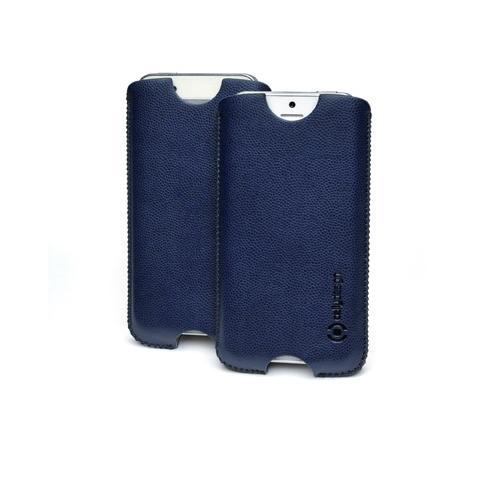 vert. pu case iphone 5 navy blue