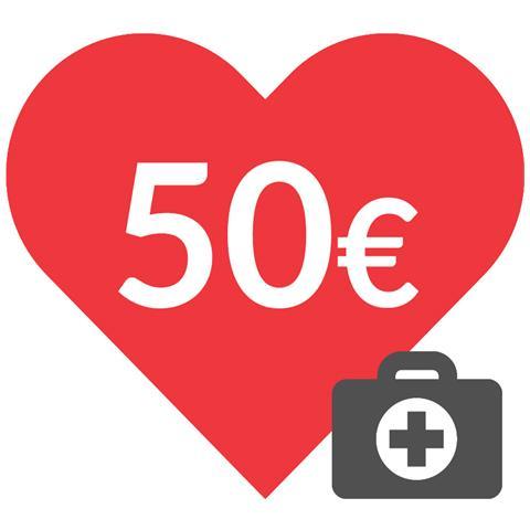 DONAZIONE - 50 euro - Insieme contro il coronavirus