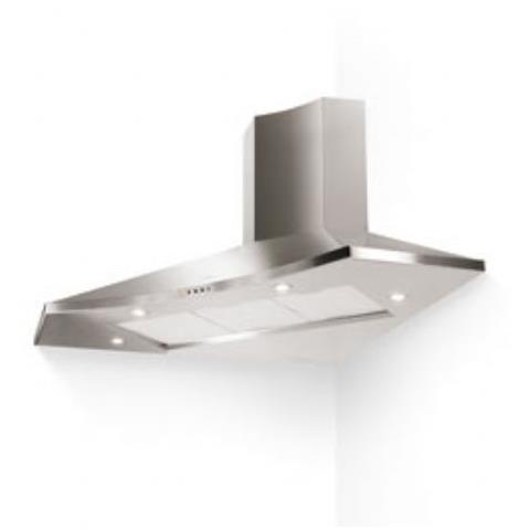 FABER - Cappa ad Angolo Solaris EG8 X A100 Aspirante e Filtrante 100 ...