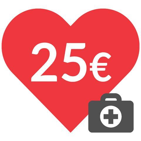 DONAZIONE - 25 euro - Insieme contro il coronavirus