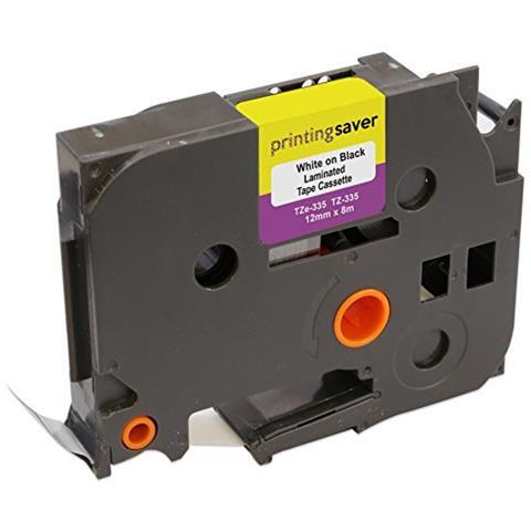Compatibile Cassette TZe-131 TZ-131 nero su trasparente 12mm x 8m Nastro laminato per Brother P-Touch PT-1000 1005 1010 3600 9600 D200 D210 D210VP D450VP D600VP E100 H101C H105 H110 H300 P700 P750W