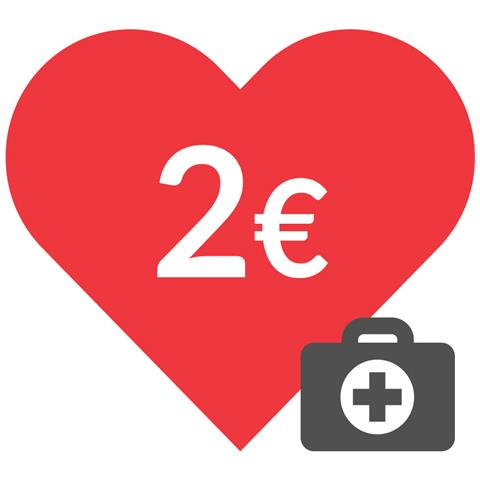 DONAZIONE - 2 euro - Insieme contro il coronavirus