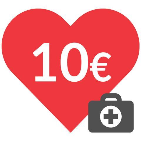 DONAZIONE - 10 euro - Insieme contro il coronavirus