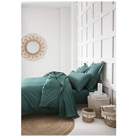 Lefebvre Textile Oggi Lenzuola Con Angoli Elasticizzati In Jersey Di Cotone 90 X 190 Cm Colore Verde Smeraldo 90x190 Eprice