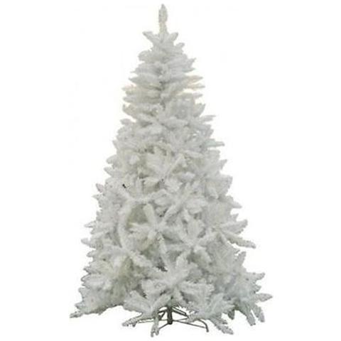 Albero Di Natale Bianco.Maurer Albero Di Natale Effetto Innevato Bianco 240 Cmb 1448 Rami Automatici H 240 Cm Bianco Eprice