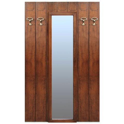 Arteferretto - Pannello Appendiabiti Con Specchio Centrale - ePRICE