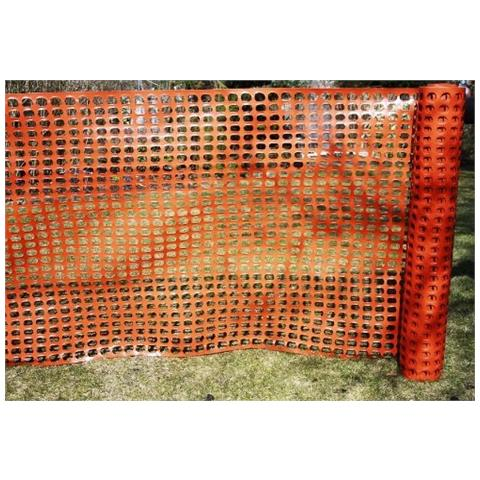 Rete In Plastica Per Cantiere.Eurostore07 Rete Da Cantiere In Plastica Arancione Alta Cm 120