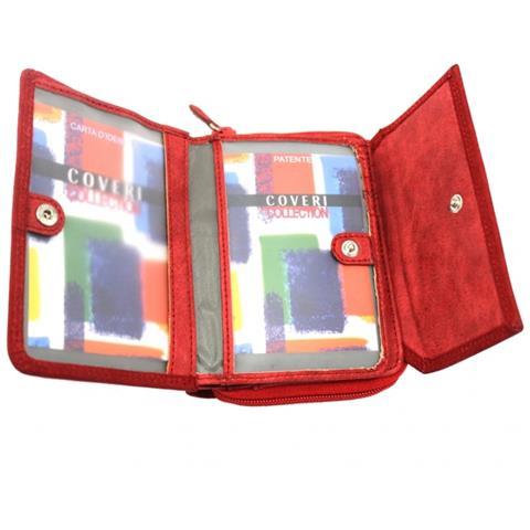 9497864e36 COVERI COLLECTION - Portafogli Donna Linea Pelle 8662-208 Rosso - ePRICE