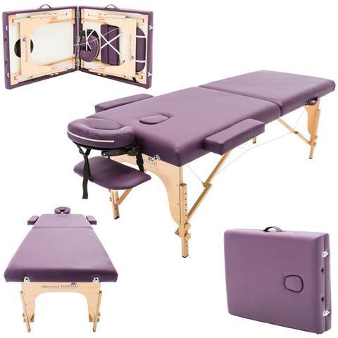 Massage Imperial Charbury Lettino Da Massaggio Portatile Deluxe