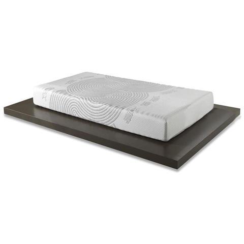 rivestimento sfoderabile Materasso Singolo Memory Foam Onda Materassimemory misura 80x190 H21 cm