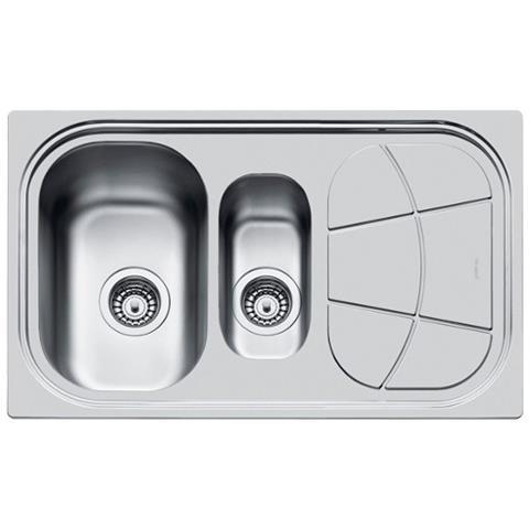foster - Lavello Ad Incasso A Bordo Standard A Due Vasche Big Bowl ...