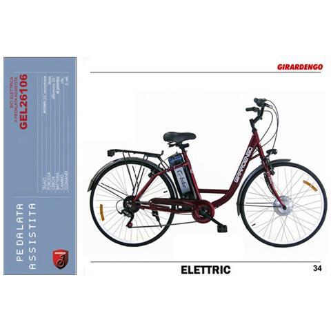 Flli Masciaghi Girardengo Bicicletta Elettrica A Pedalata