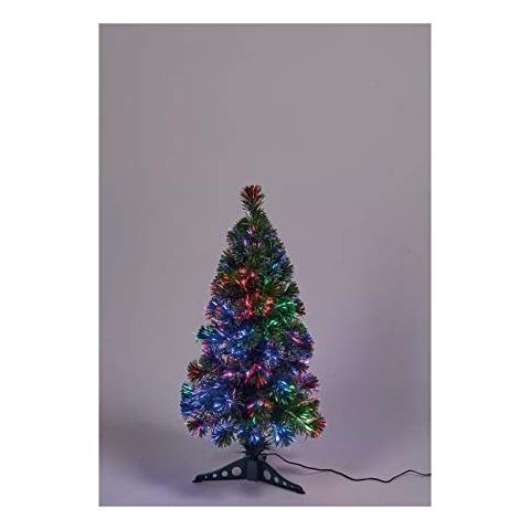 Albero Di Natale 80 Cm.No Brand Albero Verde Di Natale In Pvc H 80 Cm 24 V Fibra Ottica Luce Animata Eprice