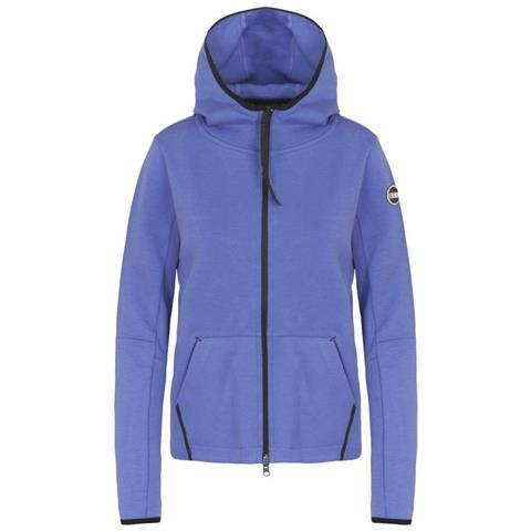 meet f7be5 11ee3 Colmar Originals Felpa Donna Full Zip Con Cappuccio Blu S