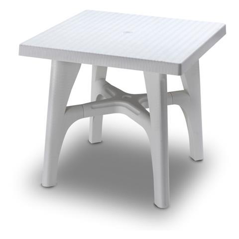 Tavoli Da Giardino Resina Scab.Scab Tavolo Intrecciato In Resina Lino 80x80x73 Cm Eprice
