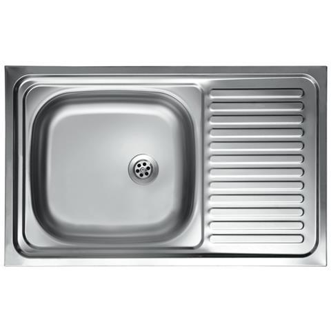 ARGONAUTA - Lavello Cucina Vasca Con Gocciolatoio Dx Acciaio Da ...