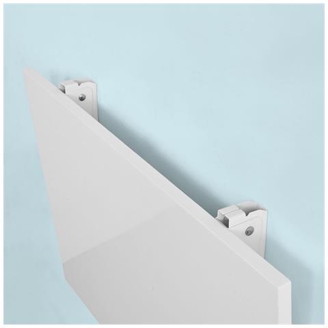 Supporti Pieghevoli Per Tavoli.Sobuy Fwt21 W Tavolo Da Muro Pieghevole Due Supporti In Ferro
