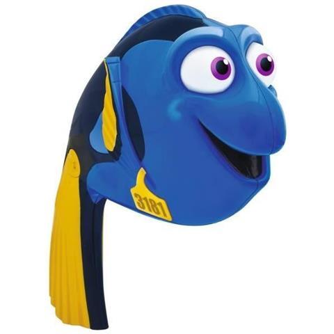 Quadro su tela pesce cartoon blu divertente cartone animato fish