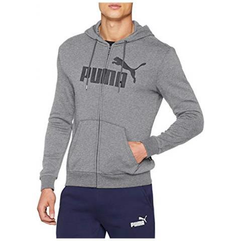 best cheap f0326 8e8ac Puma Felpe Puma Ess Tr Big Logo Abbigliamento Uomo L
