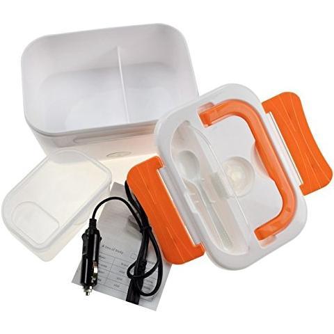 tempo di saldi Scalda Vivande Elettrico Portavivande Scaldino Portatile Box Pranzo Per Auto 12V