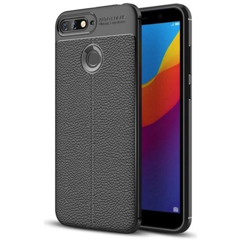 outlet 1faef 92e71 MECAWEB Custodia Cover Tpu Silicone Morbido Per Smartphone Huawei Honor 7a  / Y6 (2018)