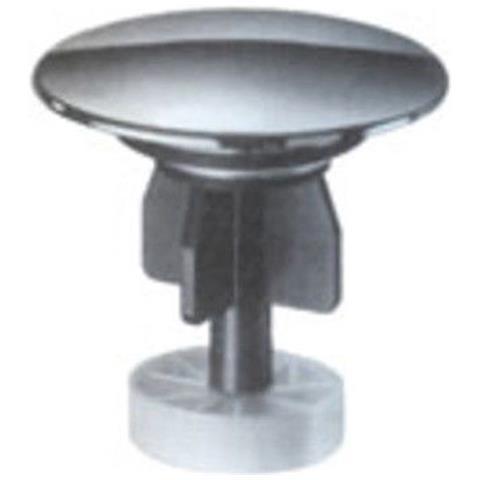 SASSI Tappo Fungo Salterello In Acciaio E Plastica Per Piletta Lavabo,  Bidet E Lavandino 1
