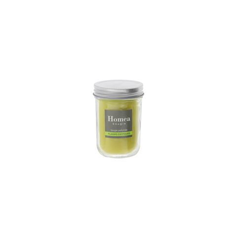 KASANOVA Candela Profumata In Barattolo Aroma Esotico Verde