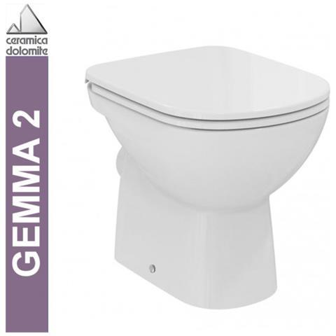 Ceramica Scala Serie Gemma.Ceramica Dolomite Wc A Pavimento Serie Gemma 2 J522301