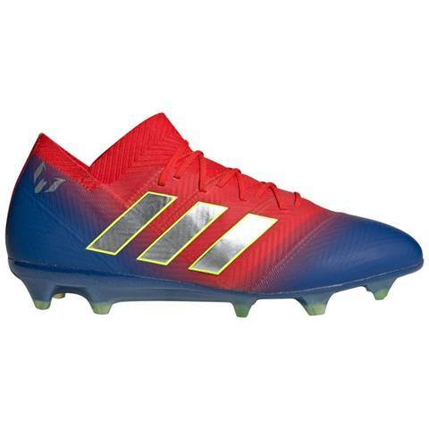 3ceaf8cac1 adidas Scarpe Calcio Adidas Nemeziz Messi 18.1 Fg Initiator Pack Taglia 42 2 /3 - Colore: Blu / rosso