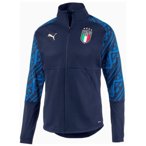 Puma, Giacca con Cappuccio e Cerniera Uomo FIGC Italia Stadium