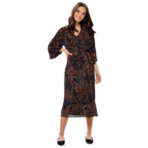 0a0e3dc1d7ca Only - Riley 3 4 Midi Dress Wvn Abito Donna Tg. Francese 36 - ePRICE