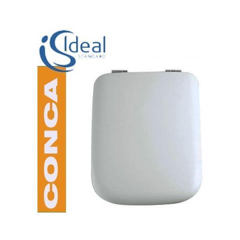 Ideal Standard Sedile Conca.Ideal Standard Sedile In Poliestere Serie Conca Art T618201