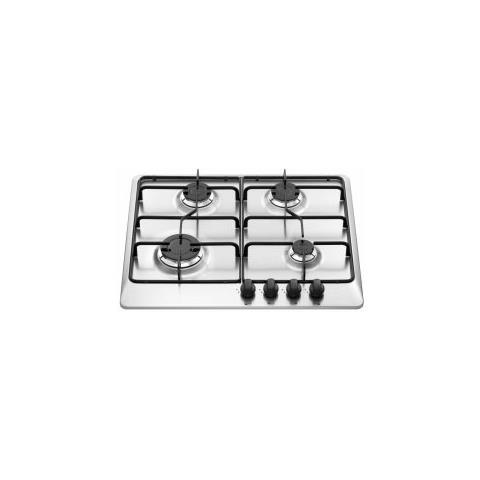 Nardi Living - Piano Cottura VH40AVX a Gas 4 Fuochi Gas Colore Inox ...