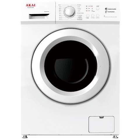 Image of Akai AQUA6044S - Lavatrice Slim 6 KG A++ (Bianco)