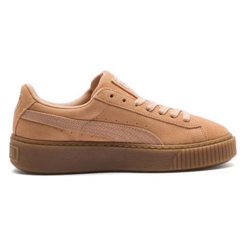 scarpe puma suede platform donna