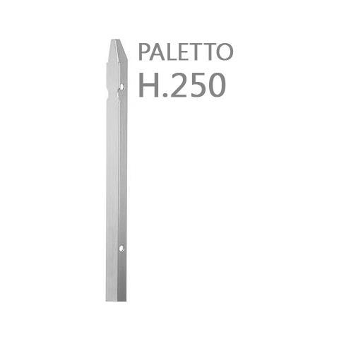 recinzione in ferro sezione mm 30x30x3 altezza Palo 150 CM Verde 10PZ Paletto a T PLASTIFICATO per recinzioni da GIARDINO