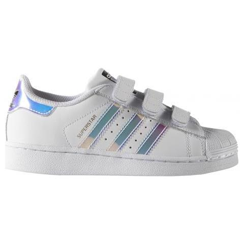 adidas Superstar Cf Scarpa Tempo Libero Bambini Uk Junior 28