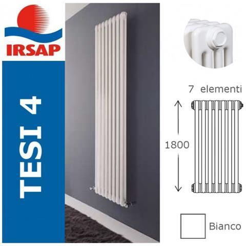 IRSAP - Radiatore Tesi, Batteria 1800/4, 7 Elementi, Bianco - ePRICE