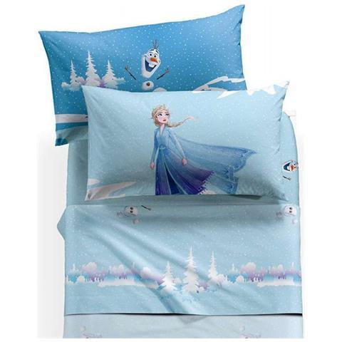 Caleffi Completo Lenzuola Letto Singolo 1 Piazza Frozen Inverno Disney Eprice