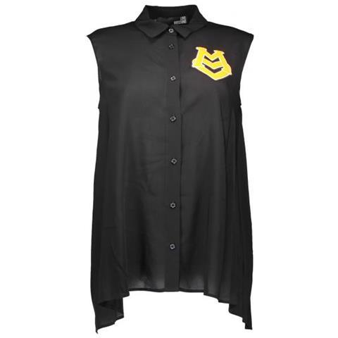 new product 678a0 1f224 LOVE MOSCHINO - Camicia Senza Maniche Donna Nero Xl - ePRICE