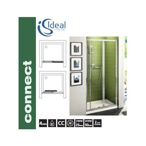 Porta Scorrevole A Tre Ante.Ideal Standard Porta Scorrevole A 3 Ante Per Box Doccia Connect
