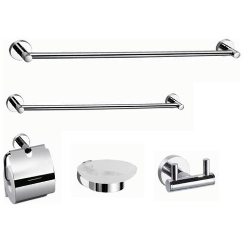 Mobili Bagno In Kit.Bath System Accessori Bagno Kit 5 Pezzi Gea Eprice